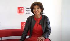 Laurence Auer, Ambasadoarea Franței la București