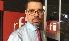 Claudiu Ciortea in studioul RFI Romania