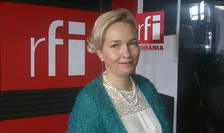 Elena Barbu in studioul RFI Romania