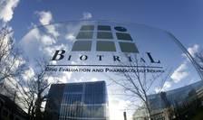 Centrul de cercetàri medicale Biotrial din Rennes care efectua testele pentru laboratorul farmaceutic Bial