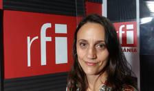 Olga Oltean in studioul RFI