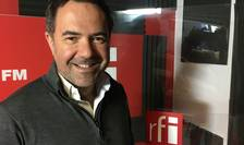 Radu Manolescu in studioul RFI Romania