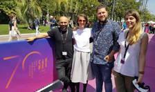 """Millo Simulov, Ioana Mischie, Marius Hodea si Gabriea Hirit la Cannes cu ocazia lui """"Romanian VR Days"""""""