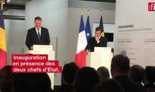 Inaugurarea Sezonului România Franţa de către preşedinţii Klaus Iohanis şi Emmanuel Macron
