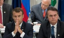 Franta se opune acordului UE - Mercosur din cauza presedintelui brazilian, Jair Bolsonaro pe care îl acuza ca nu isi respecta angajamentele de mediu.