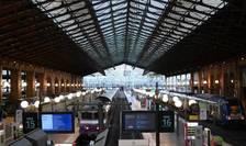 Gara de nord din Paris în timpul unei zile de grevà, septembrie 2019