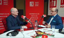 Gheorghe GRAD si Sergiu COSTACHE in studioul RFI Romania