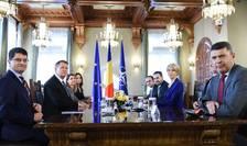 Consultări între preşedintele Klaus Iohannis şi liderii PNL (Sursa foto: www.presidency.ro)