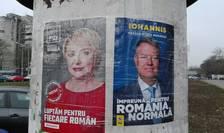 Viorica Dăncilă și Klaus Iohannis, dezbateri separate înaintea finalei prezidențiale (Foto: RFI/Cosmin Ruscior)