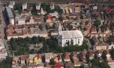 Orașul Gherla văzut de sus