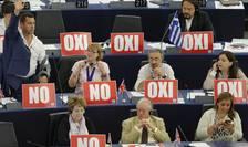 Mai mulţi eurodeputaţi au susţinut poziţia Guvernului grec în Parlamentul European