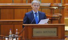 Dacian Cioloș a cerut votul de învestitură al Parlamentului (Sursa: MEDIAFAX FOTO/Eduard Vînătoru)