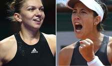 Simona Halep și Garbine Muguruza vor disputa finala turenului de la Cincinnati