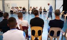 """""""Hamlet"""" în sala de sport a unui penitenciar"""