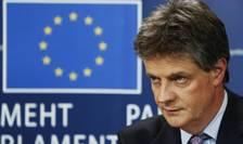 Comisarul UE pentru Stabilitate Financiară, Servicii Financiare şi Uniunea Pieţelor de Capital, britanicul Jonathan Hill