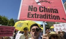 Peste un milion de persoane au manifestat duminică 9 iunie la Hong Kong.
