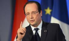 François Hollande, presedintele Frantei, a început un maraton comemorativ