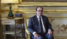 François Hollande, presedintele Frantei, marti 1 martie la Palatul Elysée