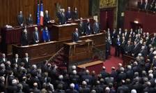 Discurs al presedintelui Francois Hollande in fata Parlamentului francez reunit