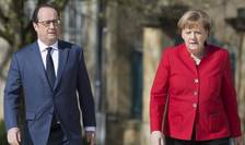 In ajunul Consiliului european, presedintele francez François Hollande si cancelara germanà vor discuta luni cu presedintele Consiliului european si cu premierul italian pentru a evoca Brexit-ul