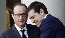 François Hollande şi Alexis Tsipras (Foto: Reuters/Philippe Wojazer)