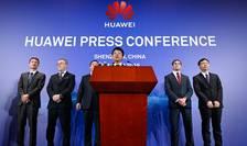 Presedintele Huawei, Guo Ping, la conferinta de presà de la Shenzen, 7 martie 2019
