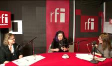 Iaromira Popovic, Ana Maria Niculescu Mizil şi Anca Năstase in studioul RFI Romania
