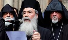 Ierusalim - Patriarhul grec ortodox Teofil al III-lea anunta închiderea Bisericii Sfântului Mormânt, 25 februarie 2018