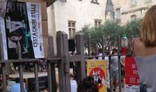 Lecturi publice în parcul Ceccano de la Avignon