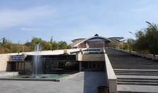 Arhitectii Centrului de conferinte în care se deruleazà cel de-al 17-lea sommet al Francofoniei au fost premiati pe vremea URSS