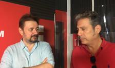 Cristian Pîrvulescu și Nicolas Don in studioul RFI Romania