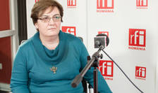 Lavinia Andrei in studioul RFI Romania