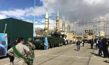 Rachete iraniene expuse pentru a fi vizitate în familie