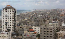 Gaza City vedere generala a suprapopulatului oras