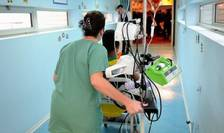 Infirmiera intr-un spital francez