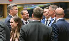 Președintele Klaus Iohannis participă la reuniunea Consiliului European de la Bruxelles