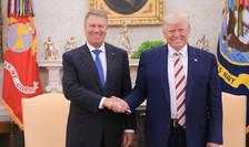 Președintele Klaus Iohannis, primit la Casa Albă de omologul său american Donald Trump