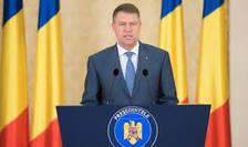 Presedintele Klaus Iohannis anunta consultari cu Parlamentul pe tema referendumului