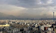 Iran - Vedere panoramica asupra capitalei Teheran