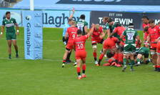 London Irish 14 Saracens 40