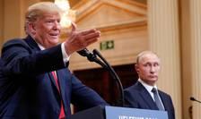 Donald Trump şi Vladimir Putin (Foto: Reuters/Kevin Lamarque)
