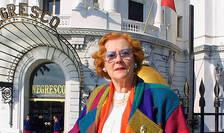 Jeanne Augier, proprietara hotelului Negresco, a murit în vârstà de aproape 96 de ani