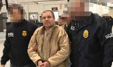 Joachim 'El Chapo' Guzman în timpul extradarii catre Statele Unite, 19 ianuarie 2017.