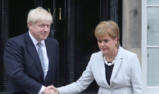 Boris Johnson și Nicola Sturgeon