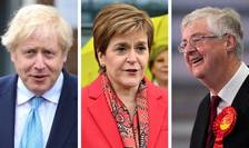 Boris Johnson, Nicola Sturgeon, Mark Drakeford