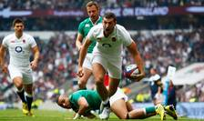 Jonny May marchează primul eseu al Angliei împotriva Irlandei