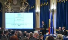 Klaus Iohannis, la bilanțul Ministerului Public pe 2018 (Foto: presidency.ro)