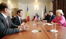 Viorica Dăncilă, întrevedere cu Steven Fulop, primarul orașului Jersey (Sursa foto: gov.ro)