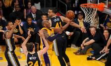 Kobe Bryant în acţiune (Foto: Gary A. Vasquez-USA TODAY Sports via Reuters)