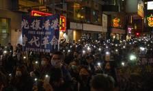 Manifestaţie pro-democraţie la Hong Kong, 8 decembrie 2019